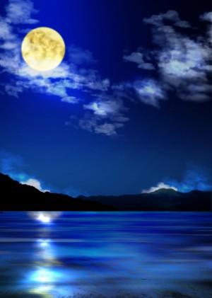 魚座まん月